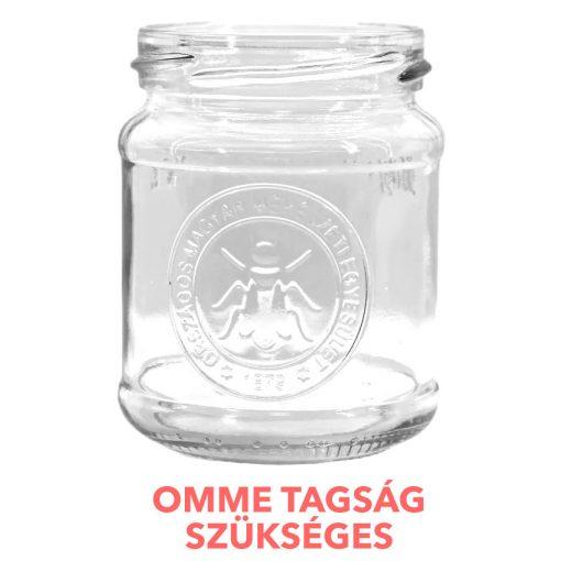 OMME termelői mézesüveg
