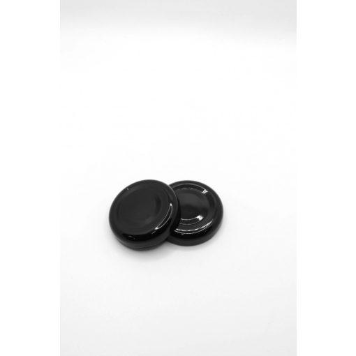 38-as konzervtető - vékony (fekete)