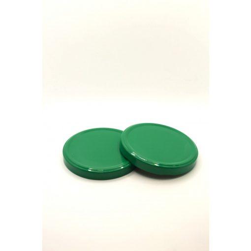 100-as konzervtető - zöld