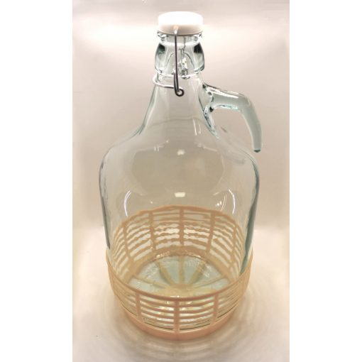 Csatos kosaras üveg 5l