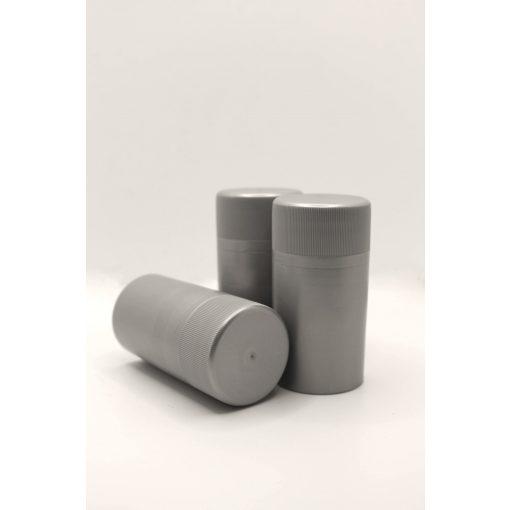 műanyag csavarzár - ezüst