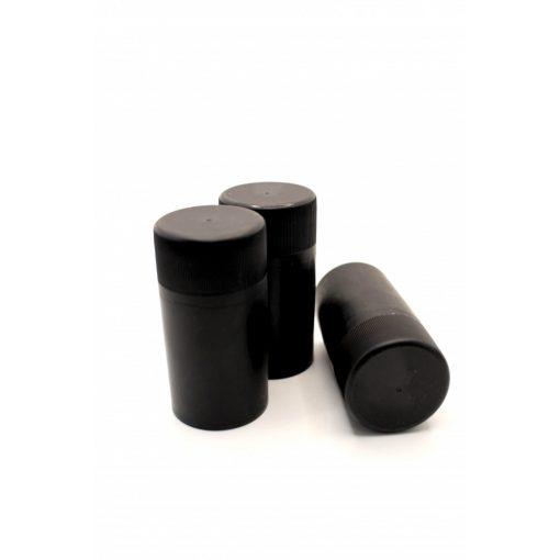 műanyag csavarzár fekete