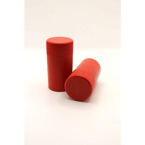 műanyag csavarzár piros