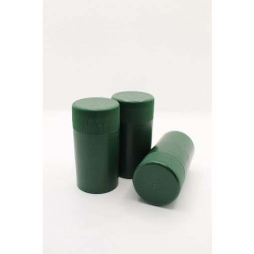 műanyag csavarzár zöld
