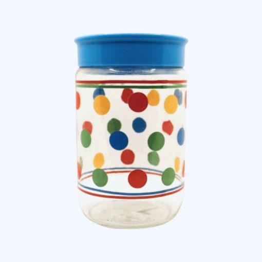 Tároló üveg 720 ml - pöttyös